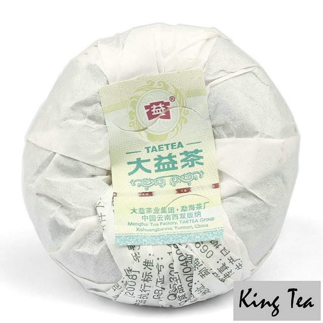 Free Shipping 2010 TAE TEA DaYi 1st Grade Tuo China YunNan MengHai Chinese Puer Puerh Raw Tea Sheng Cha Slim Beauty Premium