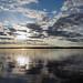 Sunset on Sturgeon lake