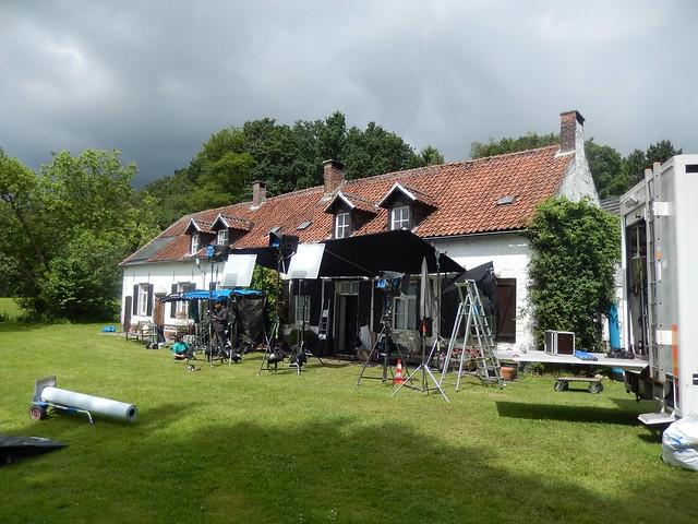 La bouse : le tournage