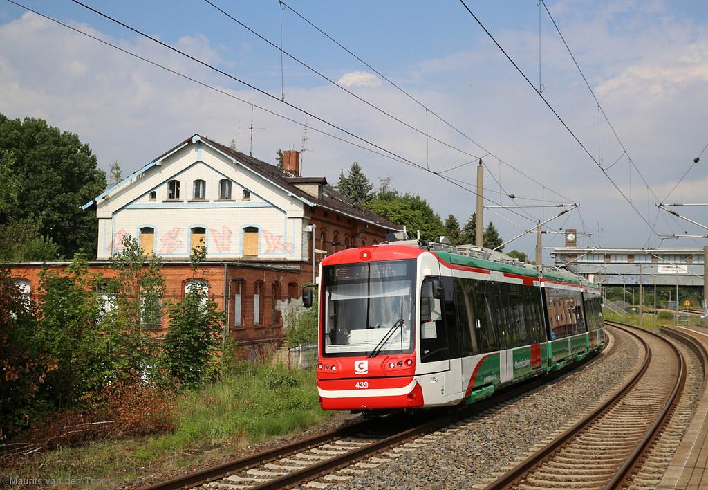 Citybahn Chemnitz 1 C15 Aus Hainichen Im Bahnhof Chemnit Flickr
