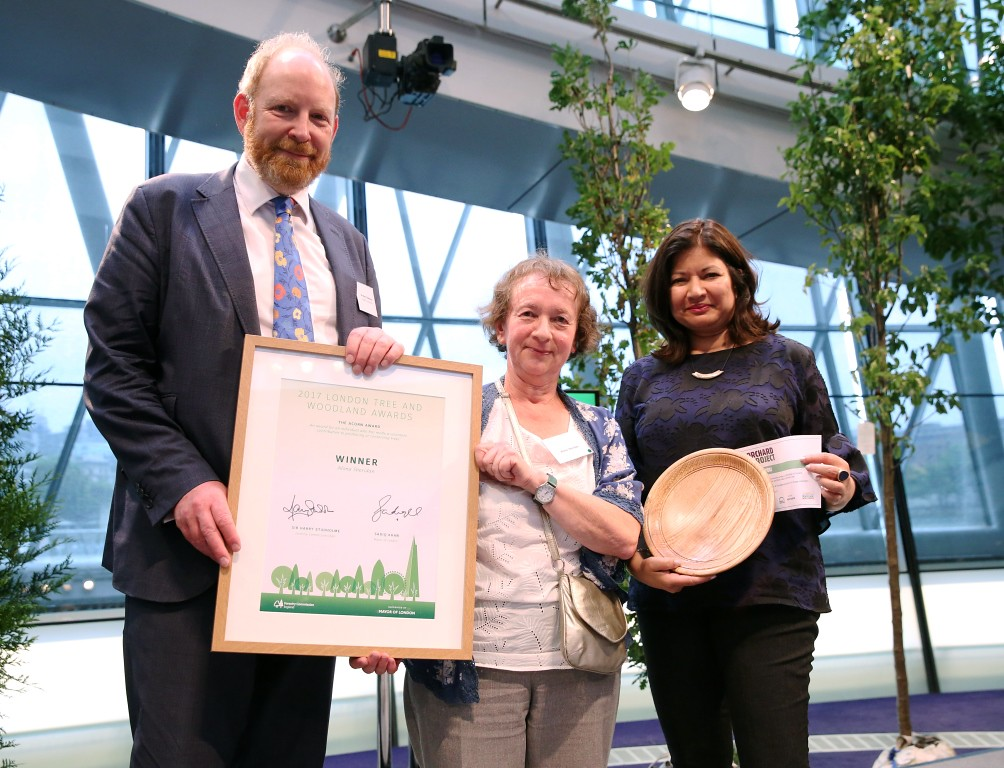 London Tree & Woodland Awards - Acorn Award - Alona Sheridan