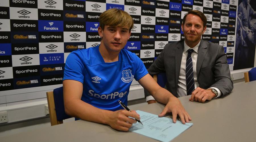 Danny Bramall - Everton