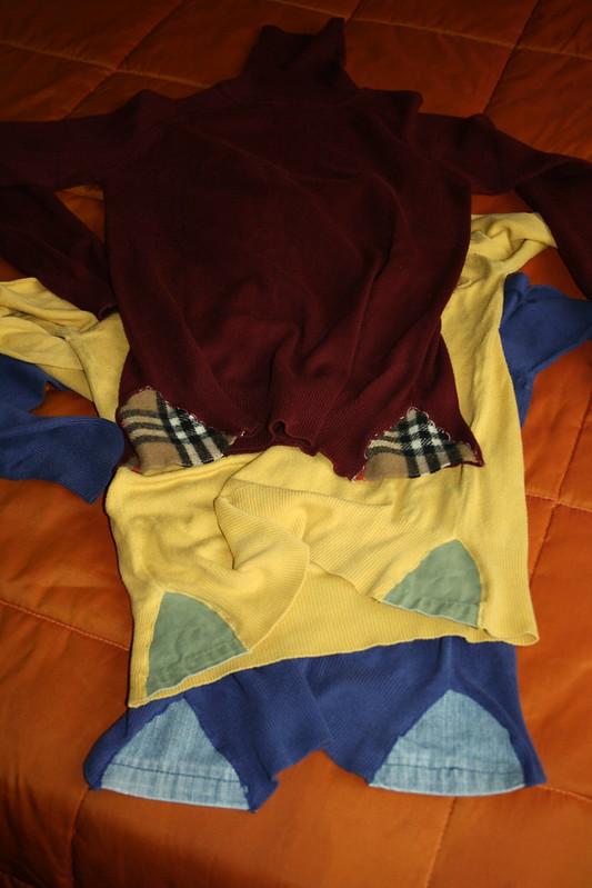Aumentos camisolas