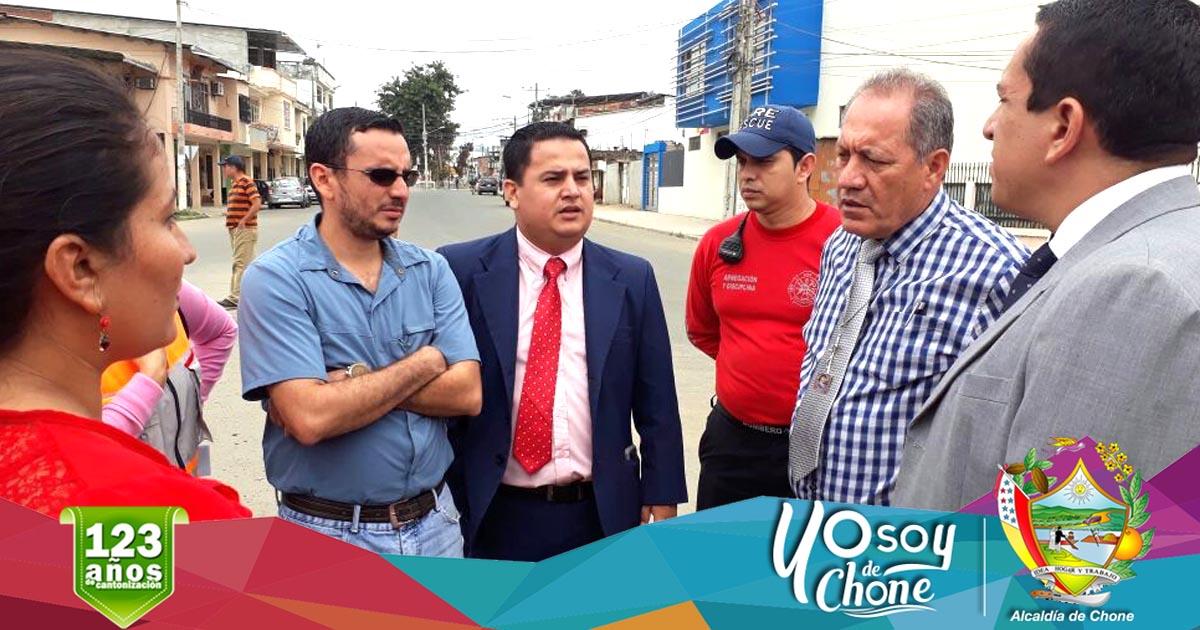 Alcalde e Intendente de Policía se reunieron para analizar la seguridad de las festividades chonenses