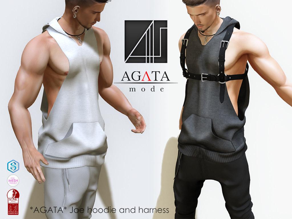 *AGATA* Joe hoodie and harness - SecondLifeHub.com
