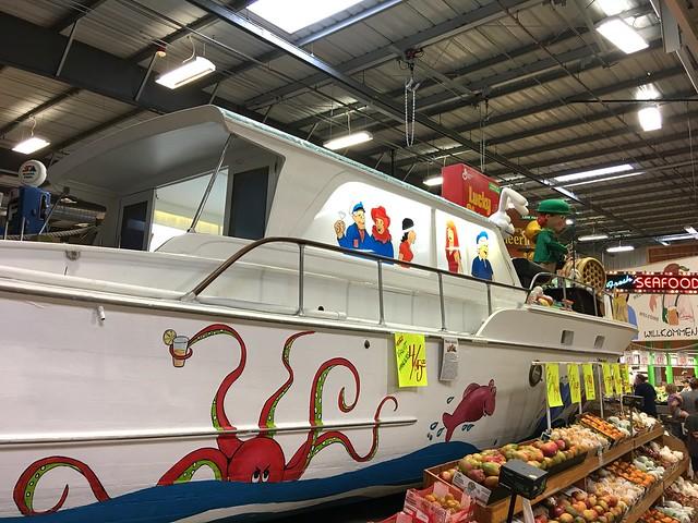 Jungle Jim's Gilligan's Island Boat