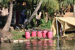Water Barrels - Keralan Backwaters India
