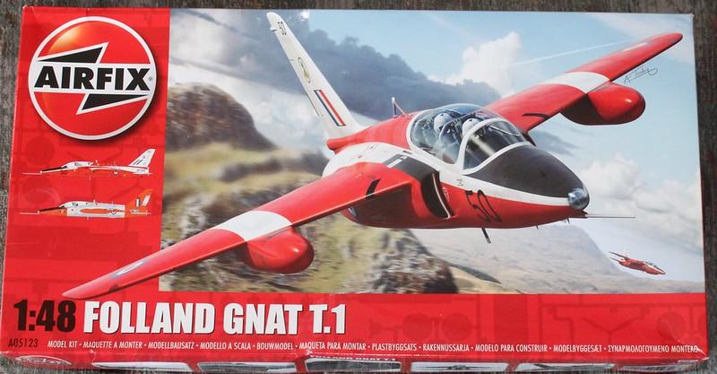 Folland Gnat T.1, Airfix 1/48 35932917862_3a0d61af47_c