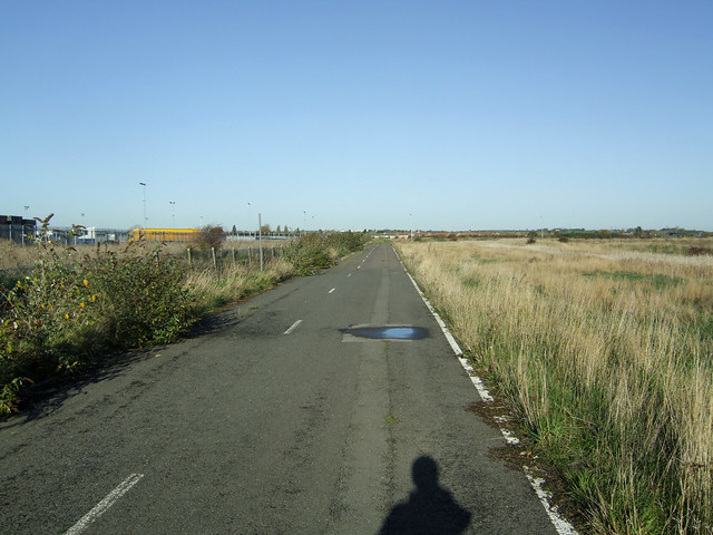 Disused road at Tilbury