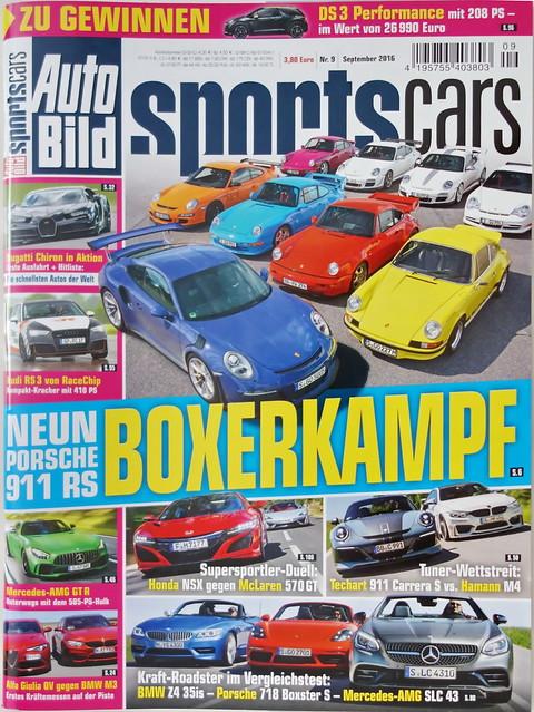 Auto Bild Sportscars 9/2016