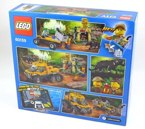 LEGO City 60159 Jungle Halftrack Mission 02