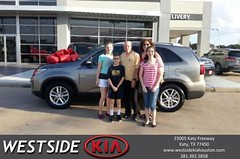 Happy Anniversary to Daniel on your #Kia #Sorento from Giancarlo Danjoy at Westside Kia!