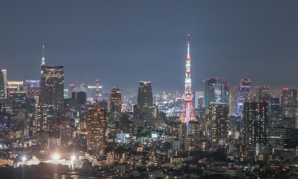 Tokyo Tower and Sky Tree