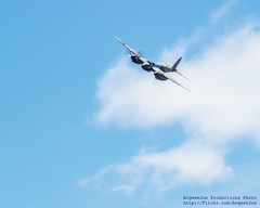 .@FlyingHeritage Mossie Soaring Out of the Clouds