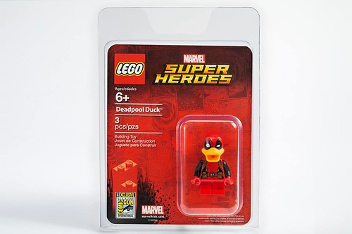 LEGO Marvel Super Heroes SDCC 2017 Deadpool Duck