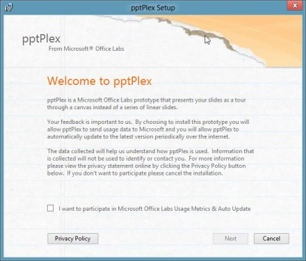 pptPlex Prezi-like Add-in PowerPoint 2010, 2013, 2016 - 01