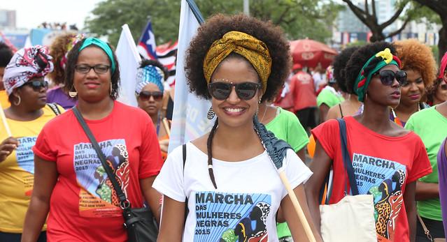 Marcha das Mulheres Negras em Brasília, no ano de 2015 - Créditos: Lula Marques/Agência PT