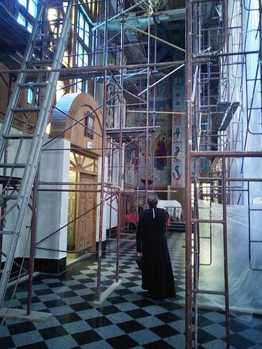 Храм ремонт