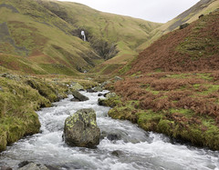 Cautley Holme Beck, Howgill Fells near Sedbergh, Yorkshire Dales National Park, Cumbria, UK