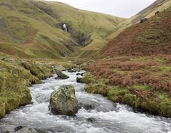 Cautley Holme Beck, Howgill Fells near Sedbergh, Yorkshire Dales National Park, Cumbria, UK