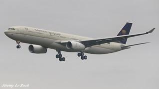 AIRBUS A330-343 SAUDI ARABIAN AIRLINES F-WWKH MSN1797 (HZ-AQ26) A L'AEROPORT TOULOUSE-BLAGNAC LE  22 07 17.