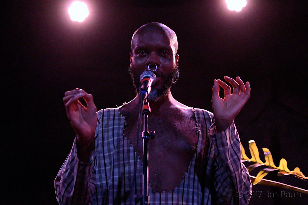 serpentwithfeet @ The Independent, SF 7/19/17