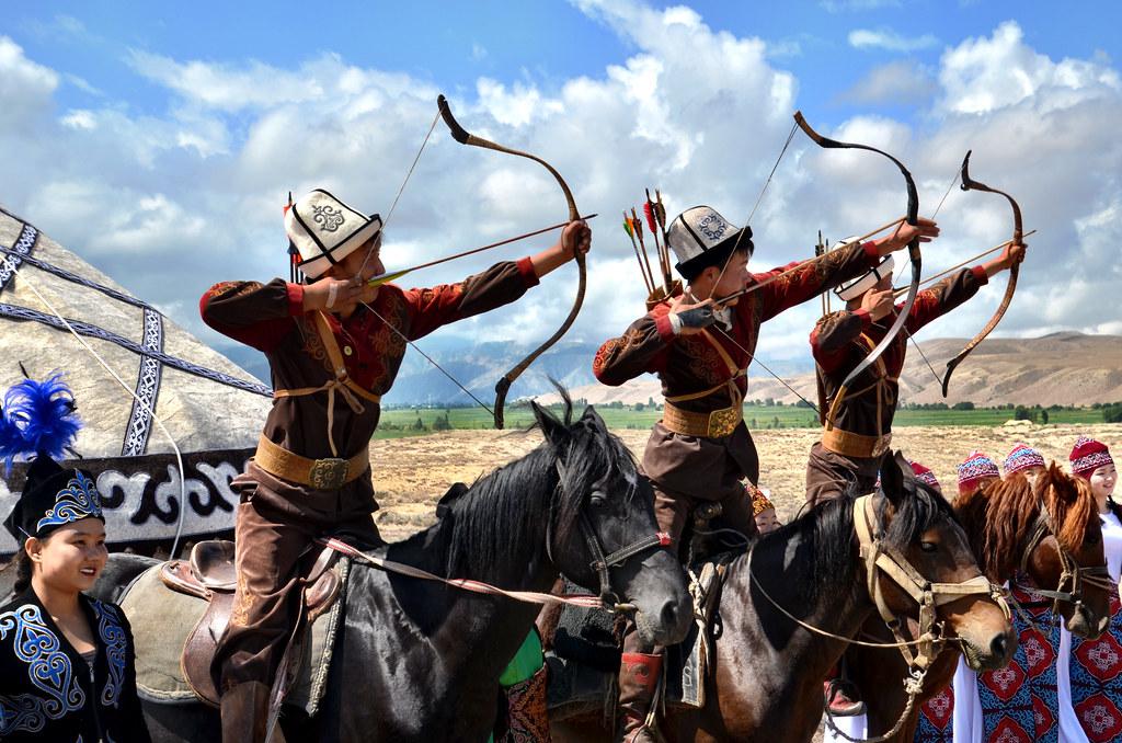 kyrgyzstan yurts polo festival landlopers