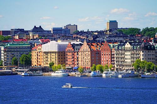 sweden stockholm riddarfjärden