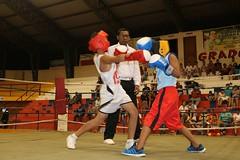 Con éxito se realizó la cartelera boxística Copa Deyton Alcívar