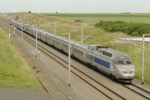 Belgian High Speed Lines - Two coupled TGV Réseau.