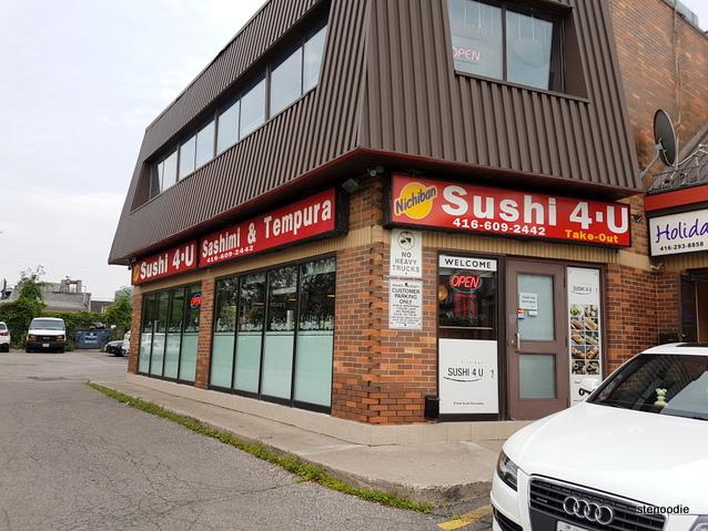 Nichiban Sushi 4 U storefront