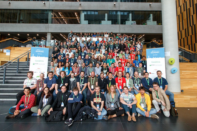 GUADEC 2017 group photo