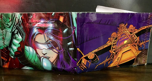 Comic Wallet from Ponshop