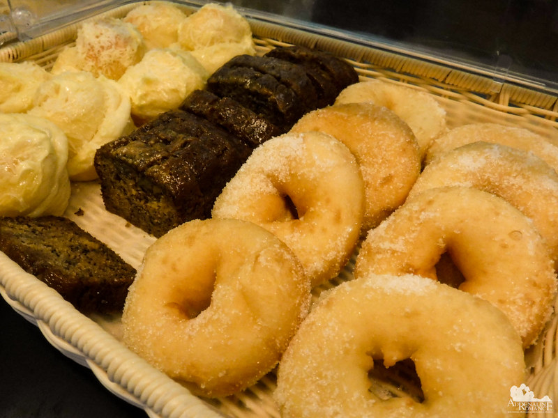 Brownies and donuts