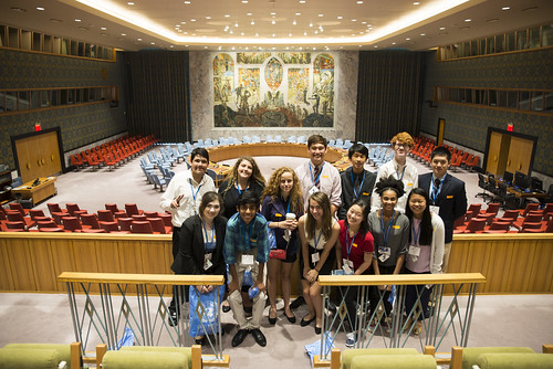INTL Students Visit United Nations