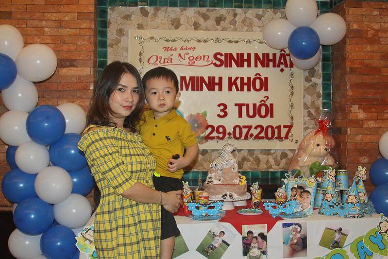 Ảnh Tiệc Chức Mừng Sinh Nhật Bé Minh Khôi