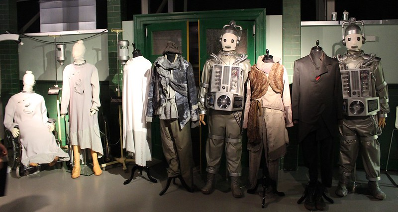 "Costumes from ""World Enough and Time"", series 10, Doctor Who Experience, Cardiff Bay"