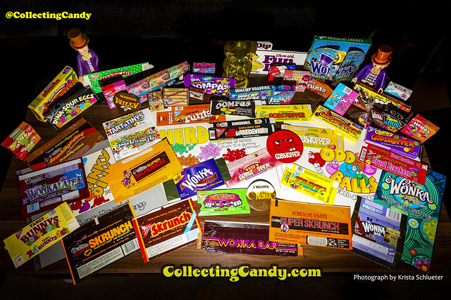 Jason Liebig's Willy Wonka brand candy packaging collection - for July 4th New York Times article - Photo by Krista Schlueter