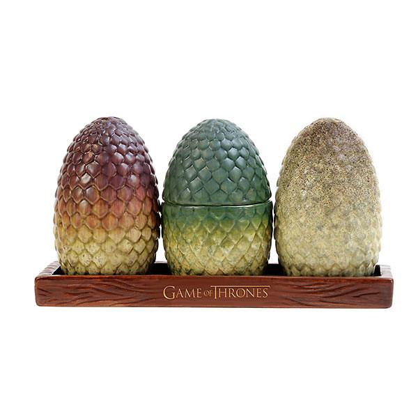 就是要在家擺著滿滿的龍蛋!!ThinkGeek 冰與火之歌:權力遊戲【龍蛋調味料罐】Game of Thrones  Dragon Egg Salt & Pepper Shakers