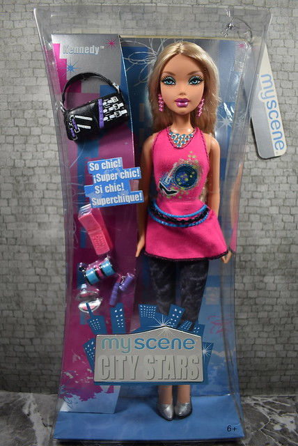 2006 Barbie My Scene City Stars Kennedy K0524 (2)
