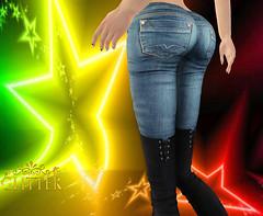 Glitter Tusla R66 booty