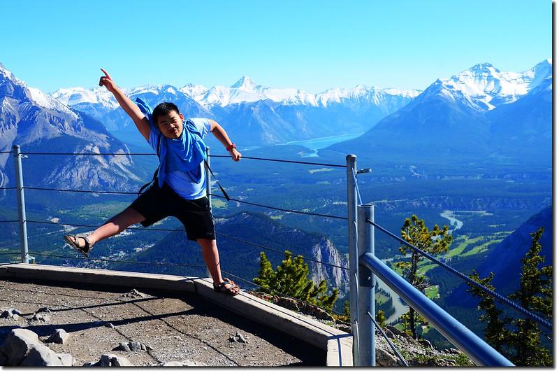 Taken from Banff Gondola Sanson Peak Observation Point 5