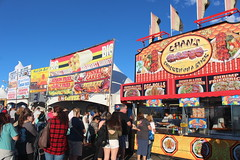 Some of the many food choices at the Albuquerque Balloon Fiesta