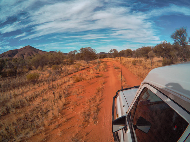 Larapinta Trail Waspcam-6 - How to do your own self-guided Uluru tour in Australia. Visit Ayers Rock in the Australian outback for cheap | Things to do in Uluru | Budget tour of Ayres Rock | Road trip from Alice Springs to Uluru | Free camping at Uluru
