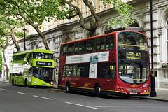 Go Ahead London WVL96 LF52ZNJ Route 87 Trafalgar Square