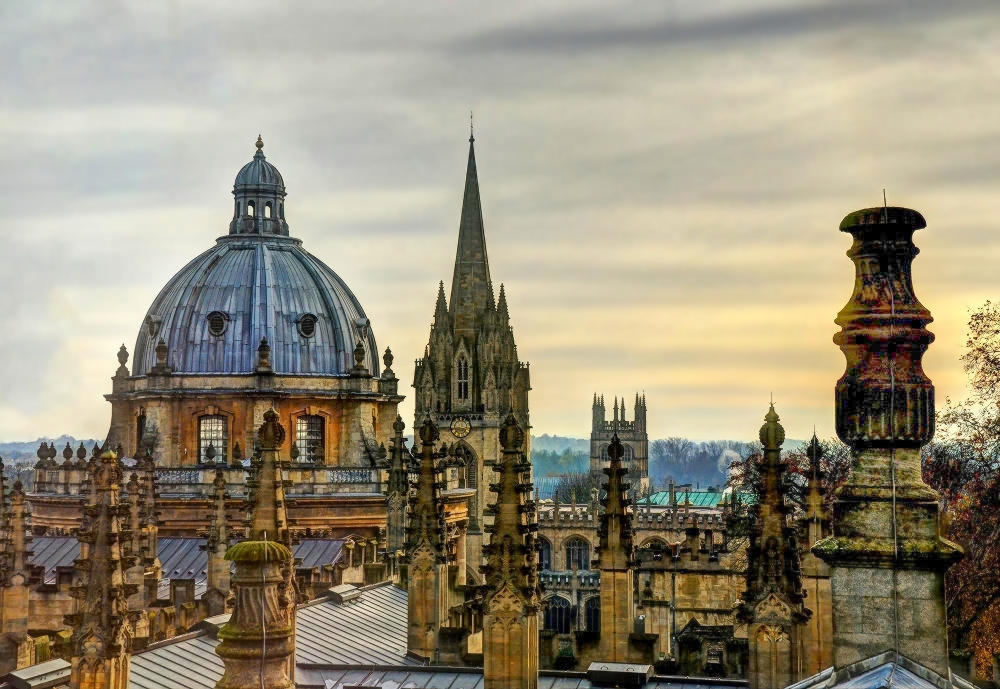 The Dreaming Spires of Oxford. Credit Baz Richardson