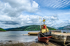 The Vital Spark,Inveraray,Argyll, Scotland.