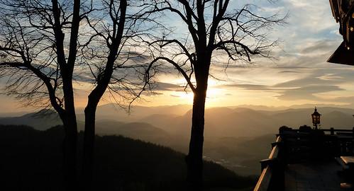 View from Magdalensberg, Corinthia, Austria