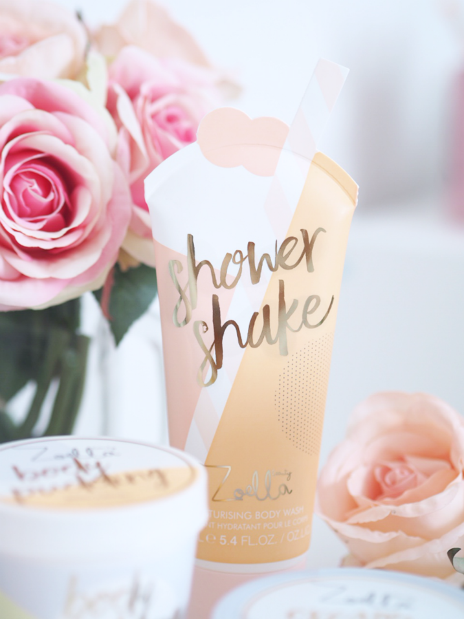 jelly and gelato shower shake zoella