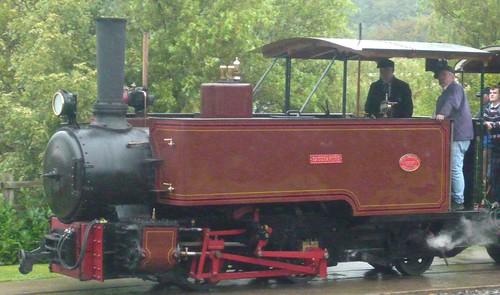 'Saccharine' 0-4-2T at the 'Statfold Barn Railway'  'Dennis Basford's railsroadsrunways.blogspot.co.uk